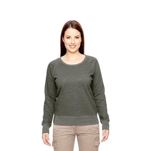 Recycled Fleece Pullover Green