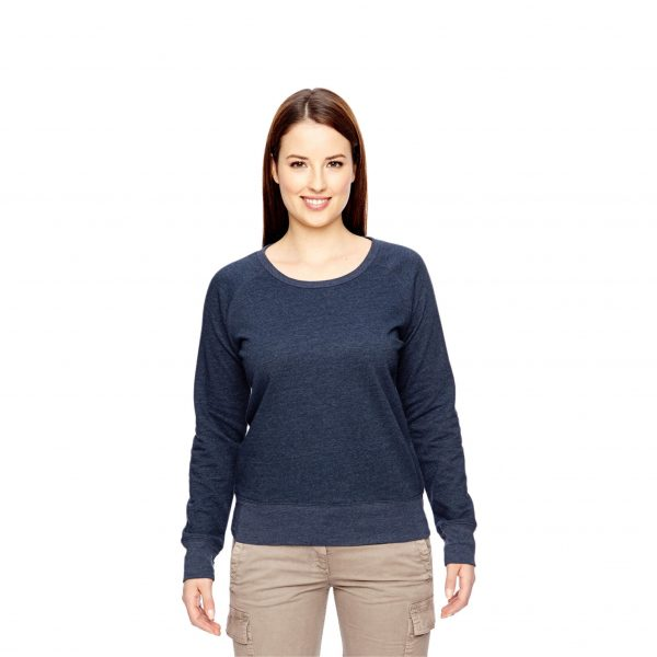 Recycled Fleece Pullover Navy
